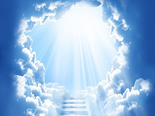「【臨死体験】天国」の画像検索結果